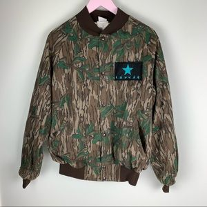 Vintage Mid South Camouflage Utility Jacket